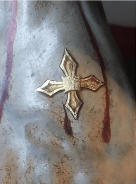 Las cruces de consagración de Jesús de la Indulgencia
