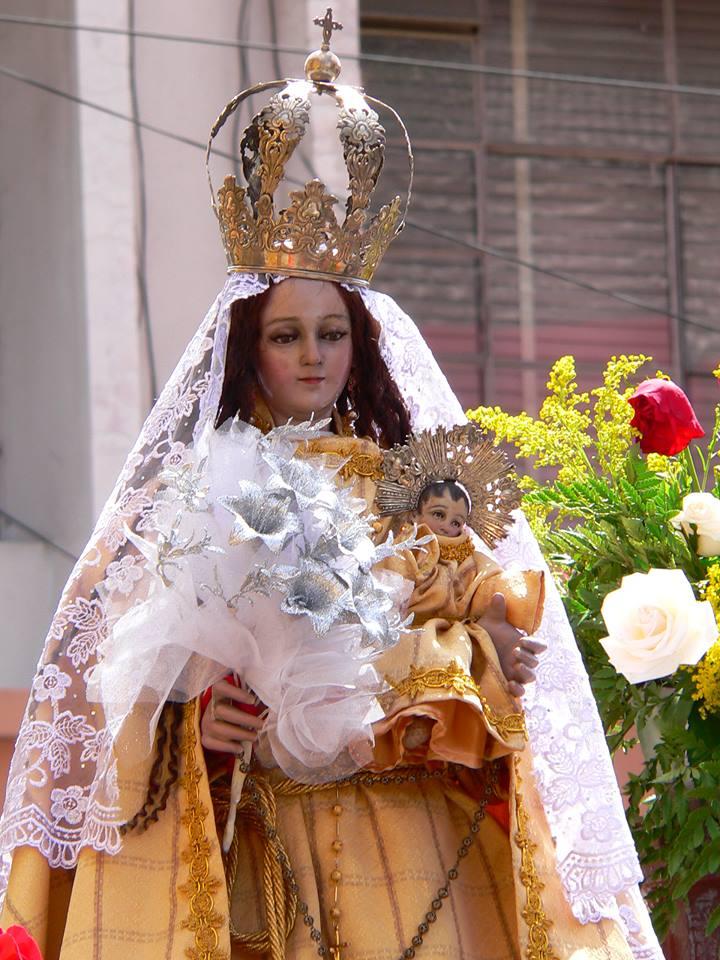 Virgen del Rosario de los albañiles