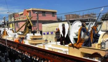 Andas procesionales de Cuaresma y Semana Santa en Guatemala