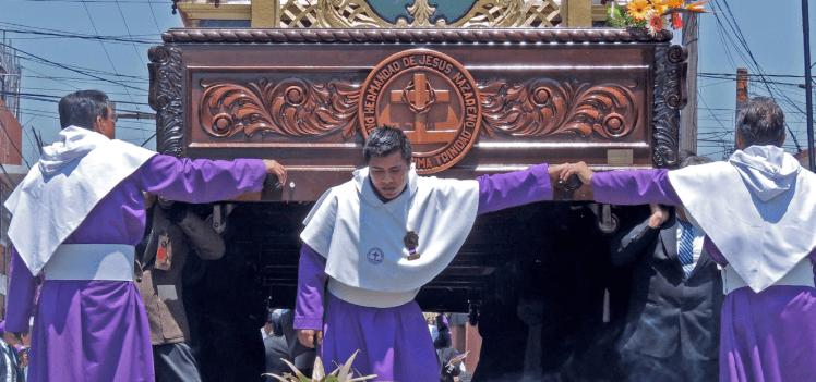Actual Hermandad de Jesús Nazareno, barrio el Gallito