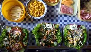delicioso platillo de fiambre y el día de muertos en Guatemala
