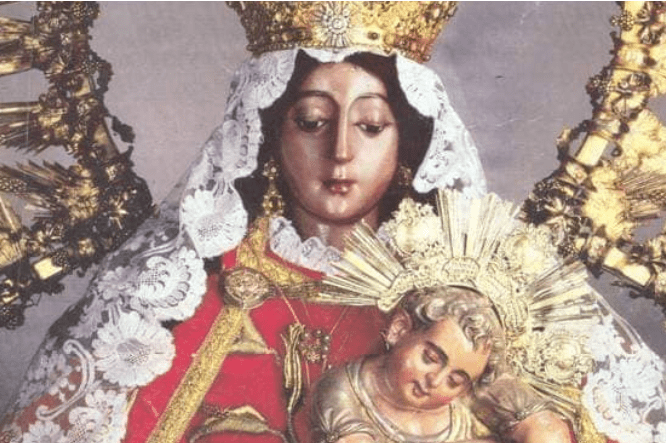 virgen del rosario de santo domingo