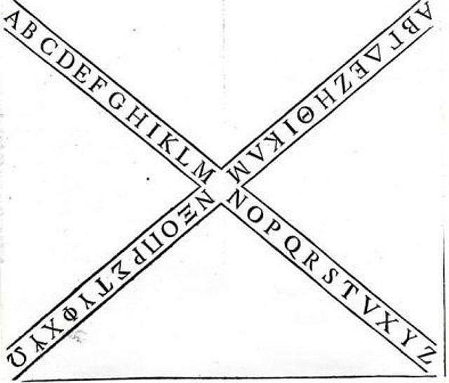 Imagen 7, Cruz con caracteres griegos y latinos