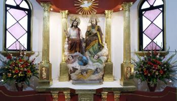 altar de la iglesia el gallito