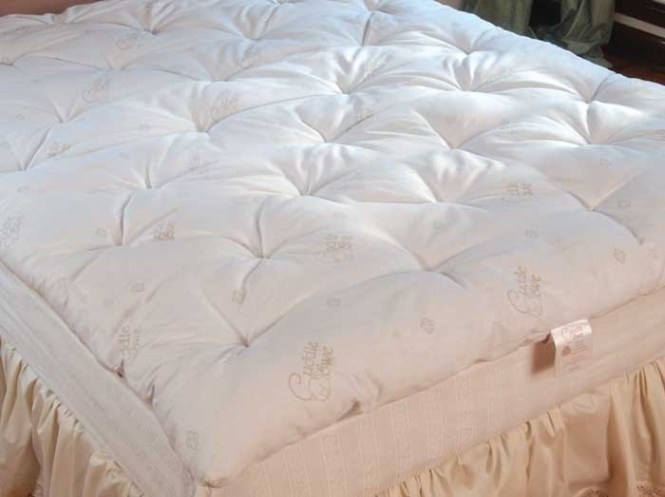 Wool Mattress Pad Topper