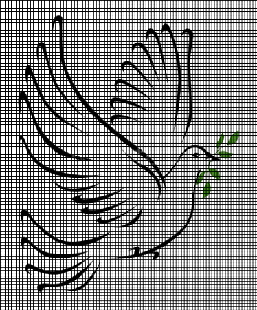 A Symbol Of Peace Crochet Pattern
