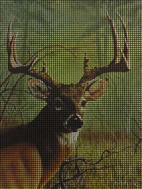 Buck whitetail Crochet Pattern