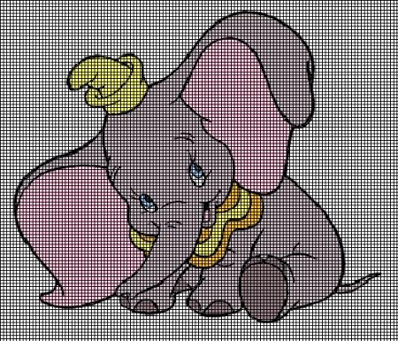 Giggling Dumbo Crochet Pattern