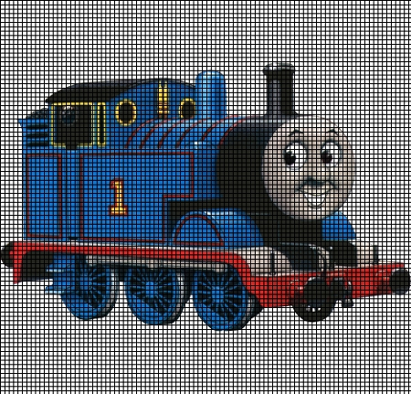 Thomas Train Crochet Pattern