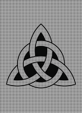 Celtic Trinity Knot Crochet Pattern