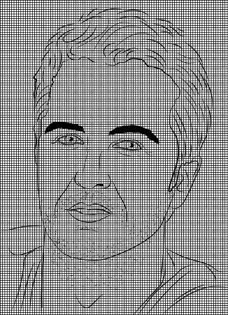 Luke Bryan Drawing Crochet Pattern