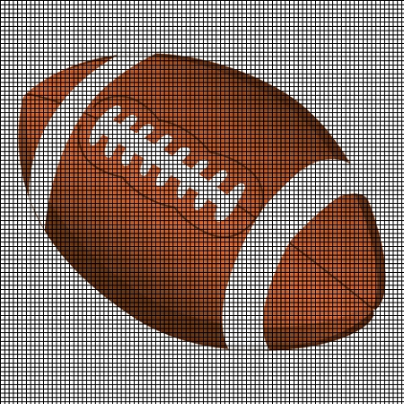 Sports Football Crochet Pattern