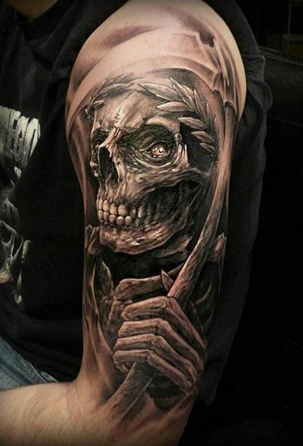 Skull Arm Tattoo Ideas