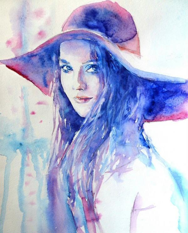 Image result for watercolor paintings of people
