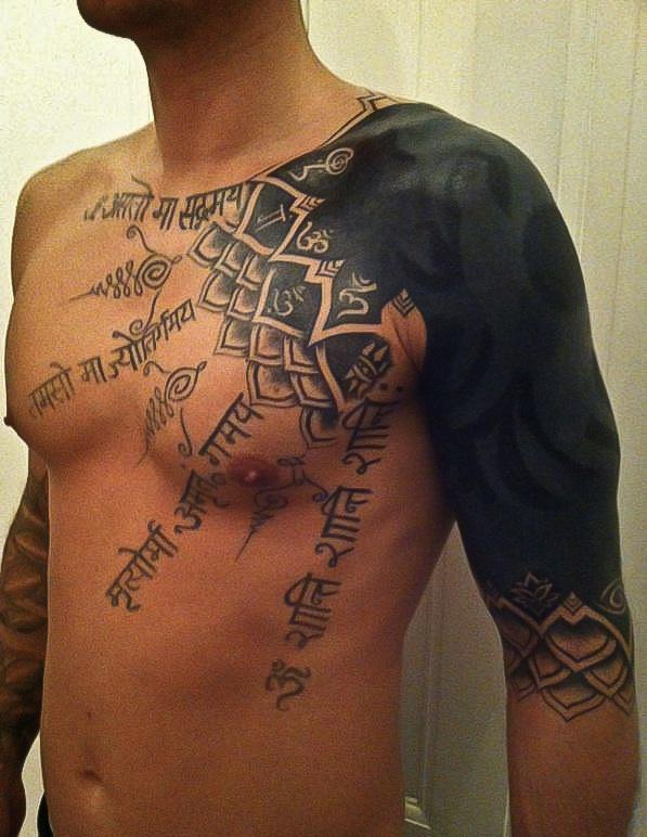 ab2cc2140 Tattoo Gallery: tribal sleeve tattoo
