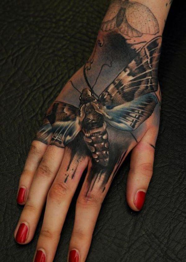 3d Simple Henna Tattoo