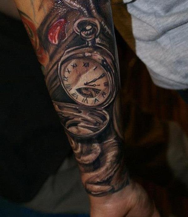 Forearm Half Sleeve Arm Tattoos For Men