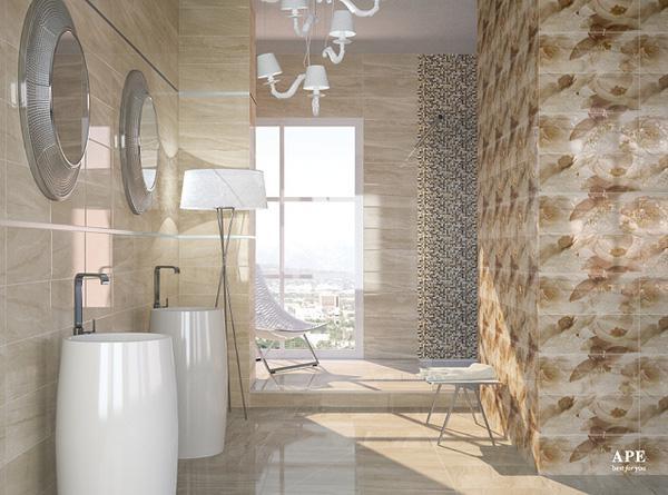 More than a bathroom: a window.