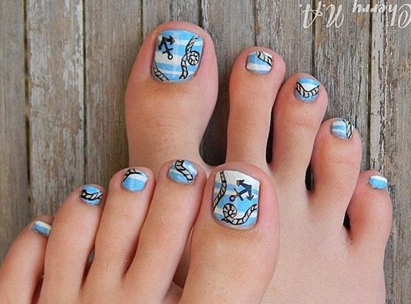 Toe Nail Art 30 Designs