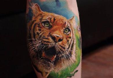 Beautiful Tiger Tattoo Ideas Best Tattoo Designs