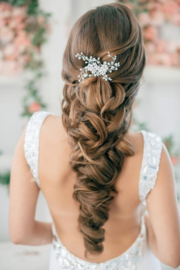 wedding hairstyle for long hair 30 unique wedding hairstyles 3 3