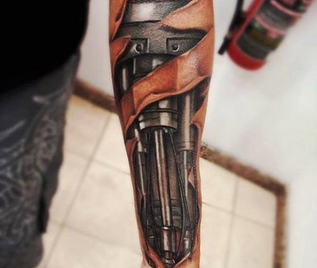 D Forearm Tattoo For Men  Awesome Forearm Tattoos