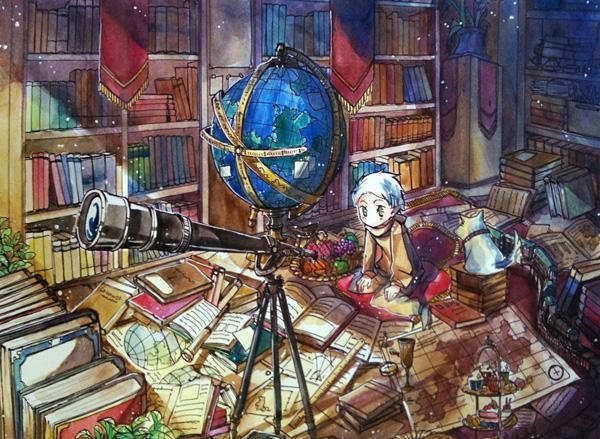 [Homework] Final Project 01 - 50 Examples of Anime Digital Art <3 !