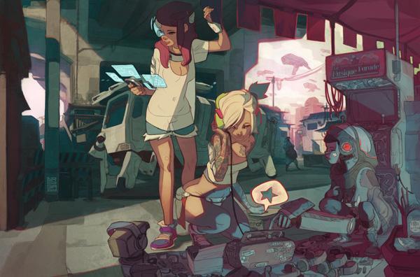The Retro of Tomorrow - 50 Examples of Anime Digital Art <3 !
