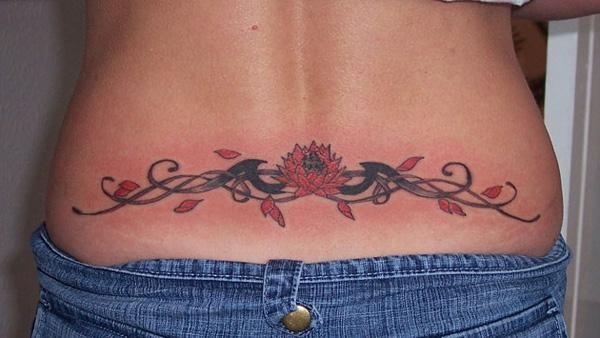 Small Lower Back Tattoos For Females