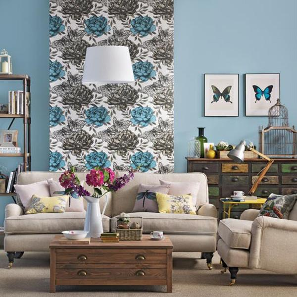 Butterflies, flowers… bring the life of nature in your living room.