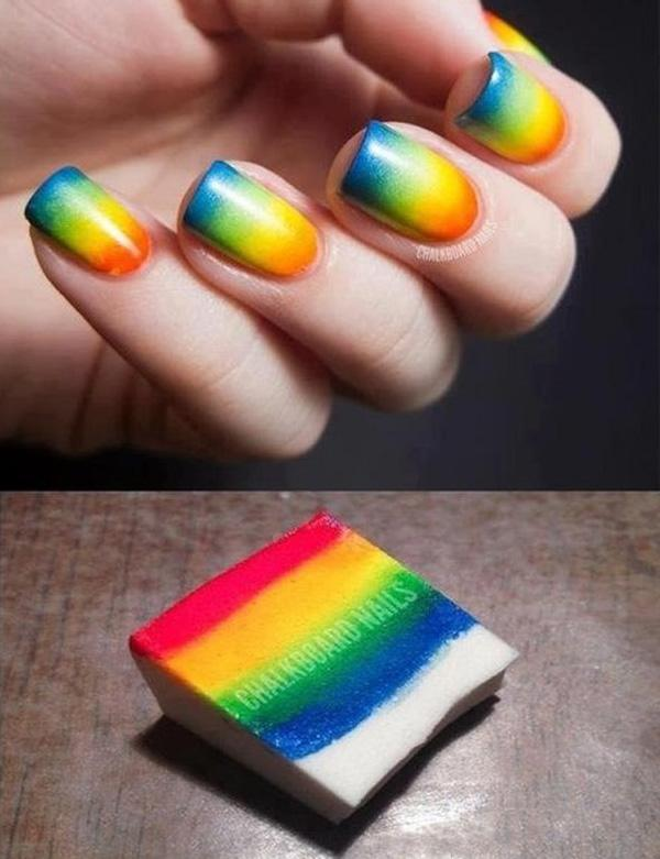 What Are You Reminded Of When Looking At These Nails An Ice Pop