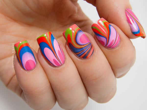 Ever Wonder What Would Happen On Your Nails If You Dipped Them In Rainbow