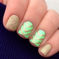45 Beautiful Chevron Nail Art Designs | Nail Design Ideaz