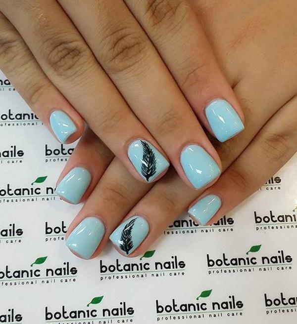 If You Re A Minimalist Then This Baby Blue Nil Art Design Is Perfect For