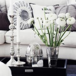 Living Room Flowers Marble Furniture 35 Vases And Ideas Art Design Beautiful White Flower Arrangement Brighten Up Your By Using Long Stemmed Complementing
