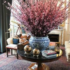 Living Room Flower Vases Led Lights 35 And Flowers Ideas Art Design Take On This Wonderful Burst Of Pink Bundled In A Blue Porcelain Vase
