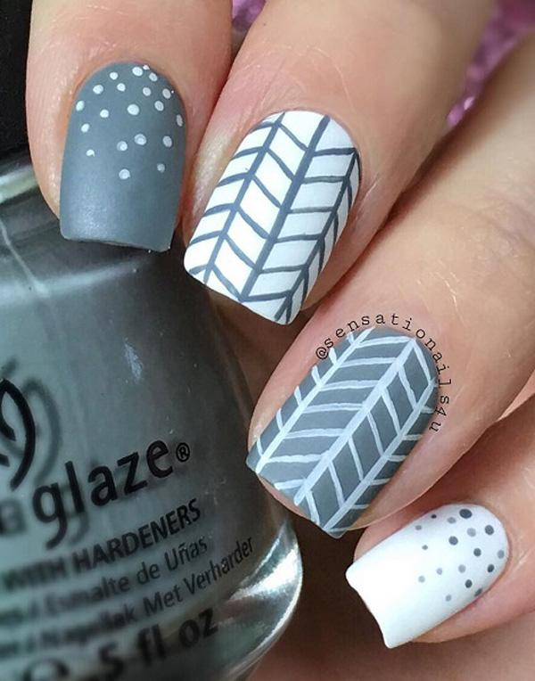This Chevron Style Is Much Easier To Do Since There S No Need For Cutting And Scotch
