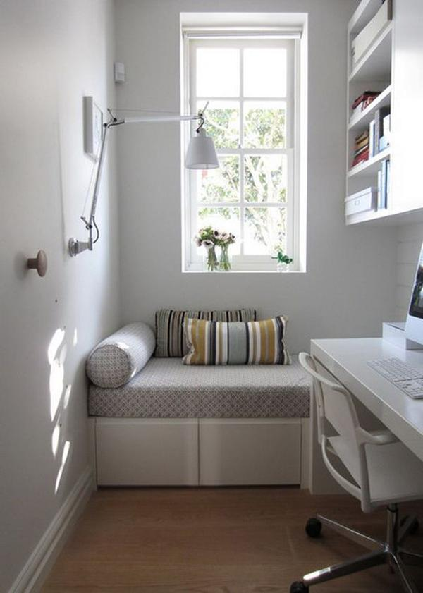 This comfy space is a must-have for every home-office. You wouldn't know when you need a little break time for work.