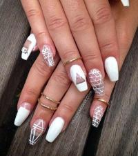 White Nail Designs | www.pixshark.com - Images Galleries ...