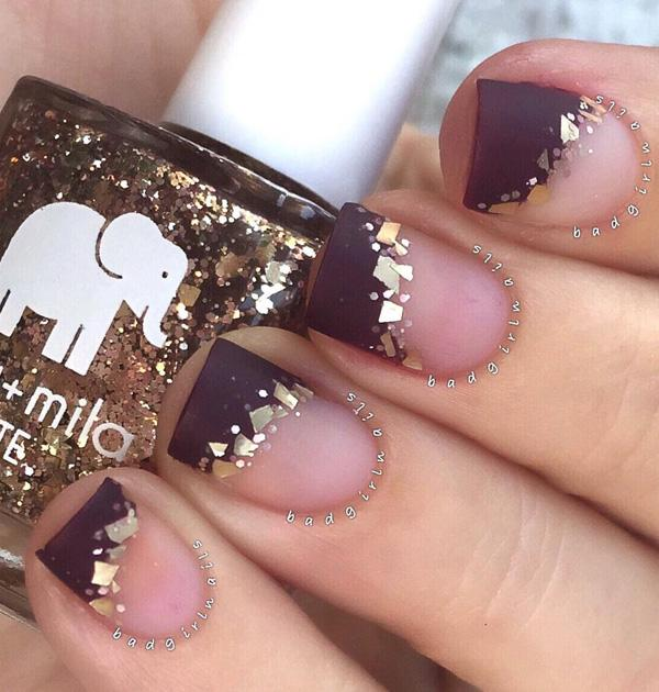 Try A Bit Of Fun With The Clic Style By Doing This French Tip Inspired