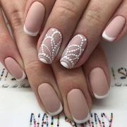 chic classy nail design