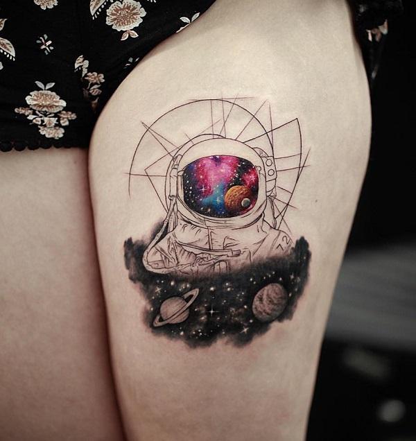 30 Astronaut Tattoo ideas  Art and Design