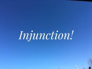 injuncted