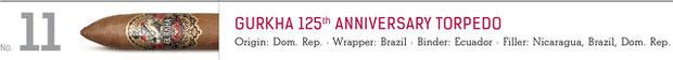 No. 11 Gurkha 125th Anniversary Torpedo