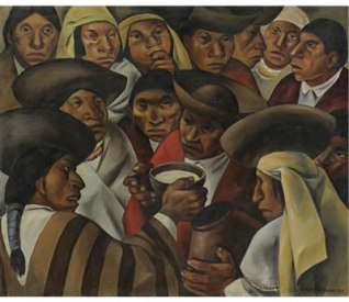 Eduardo Kingman drew on themes of indigenous life for his paintings.