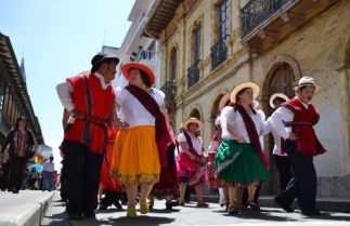 Aberger says Cuenca cultural events are a big draw.