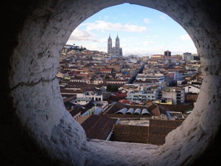 Old Town Quito from