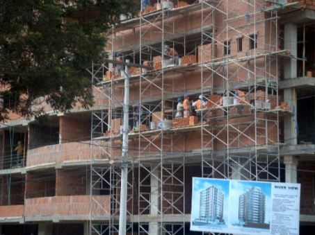 Much of the condo construction in Cuenca has been funded by remittances from overseas. Photo credit: Rich & Nancy