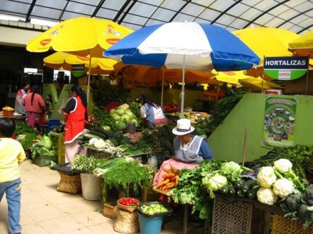 Knowing some Spanish is essential for negotiating with vendors at the mercado.