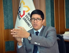Foreign Trade Minister Diego Aulestia.